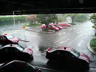 局地的大雨