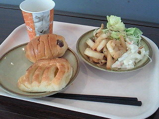 朝食が付いて